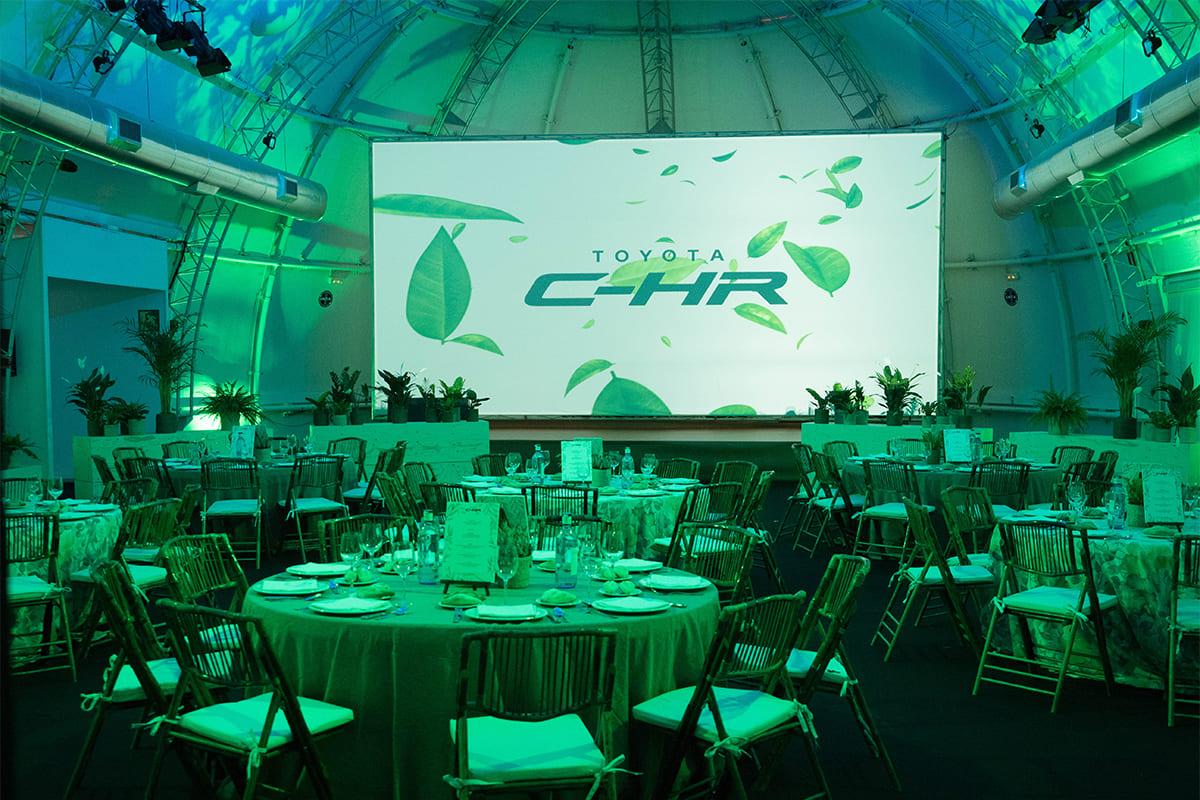 Evento TOYOTA C-HR